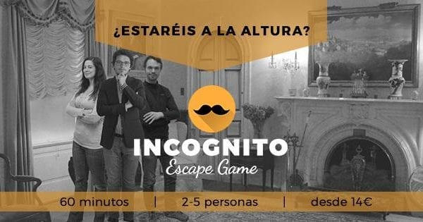 Escape Room Incógnito Madrid
