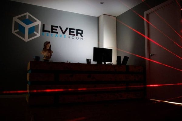Resuelve el misterio en Lever escape room
