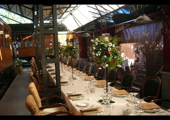 Restaurante el vagón de beni un romántico tren en madrid