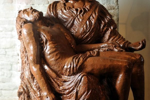 La Piedad en chocolate Museo Barcelona