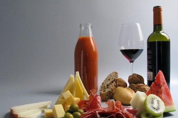 Menú picnic mediterráneo