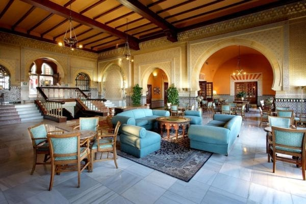 Hotel Alhambra Palace Granada Sillas