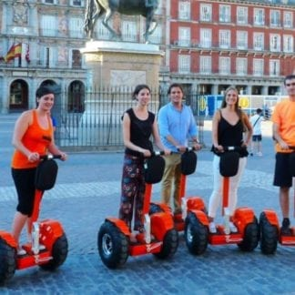 Madrid segway plaza mayor