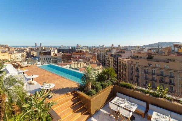 The One Barcelona Gl Azotea