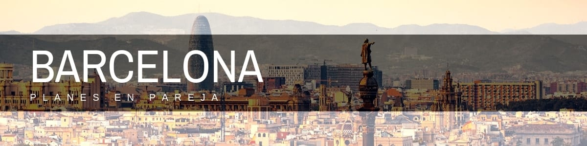 planes en pareja barcelona