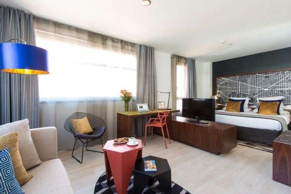 hotel capri habitacion