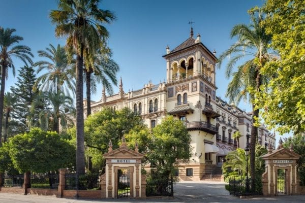 Suite deluxe hotel alfonso XIII sevilla