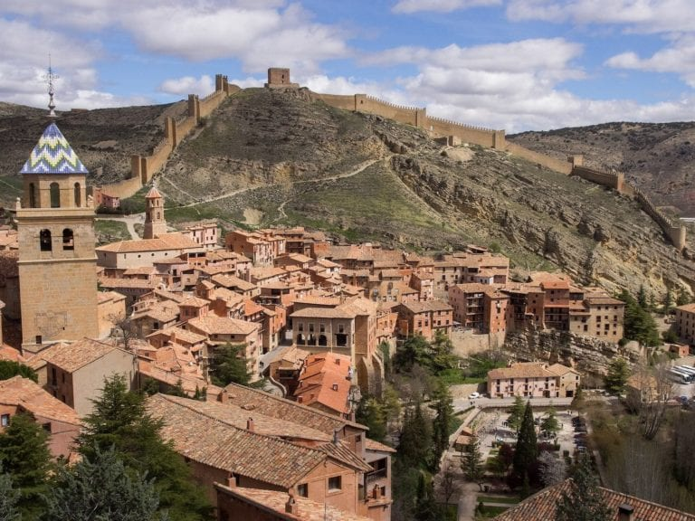castillo-vistas-albarracin-teruel