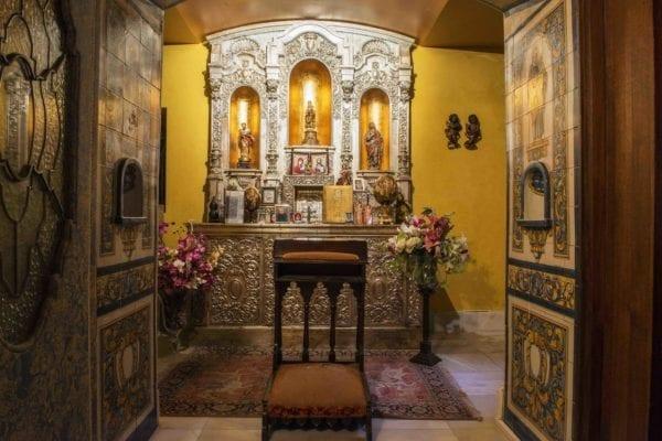 hotel castillo el collado capilla laguardia
