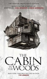 Cartel promocional Cabin in the woods