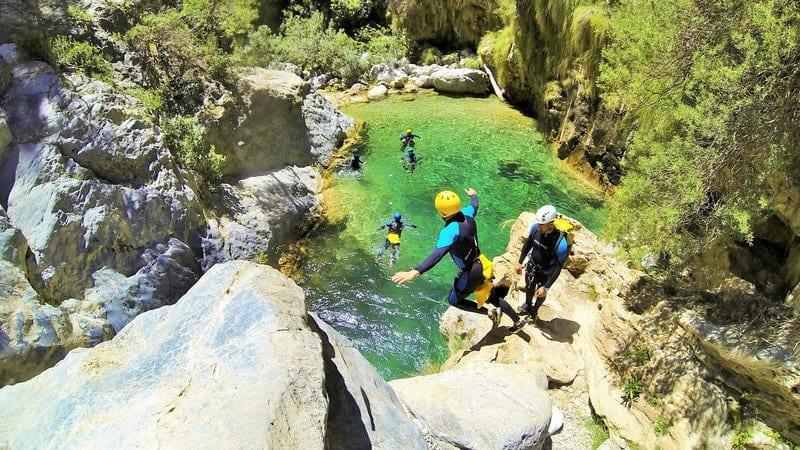 Deportes de aventura en Andalucía